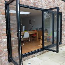 Double Glazed Kitchen Doors Bi Folding Doors Albany Windows Double Glazing Installers In