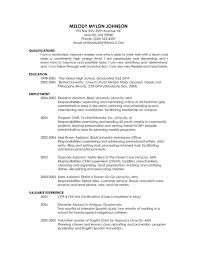 Curriculum Vitae Format Resume Cover Letter Jim Kitchen Unc