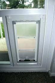glass door with dog door built in cat door for window cat door window insert sliding
