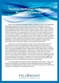 Fellowship Personal Statement Samples | Scoop.it