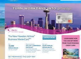 35000 Hawaiian Miles Barclays Credit Card 50 Off Hawaii Flights