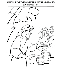 Parable Of Talents Coloring Page Bltidm