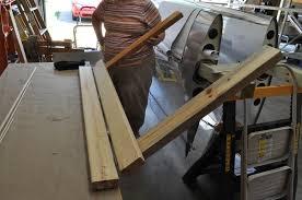 homemade sheet metal bending brake