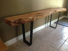 tree stump furniture. live edge table with hairpin legs coffee metal rustic tree stump furniture