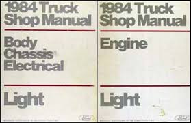 1984 ford econoline van and club wagon foldout wiring diagram 1984 ford truck van repair shop manual econoline f150 f250 f350 bronco set 149 00