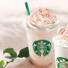 white chocolate frappuccino cherry only at starbucks an
