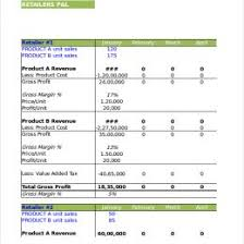 Free Profit And Loss Template Excel 11 Profit And Loss Statements Free Templates Excel Profit Loss