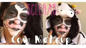 sclera lens cow makeup danielle miranda