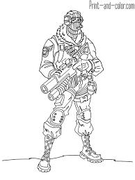 Fortnite Battle Royale Coloring Page Raptor Fortnite Battle Royale