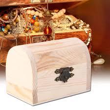 handiwork wooden ingots jewelry box base art decor diy wood crafts collect ln