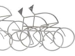 peloton abstract cycling team metal wall art click to expand on cycling metal wall art with cycling silver wall art cyclists metal wall hanging