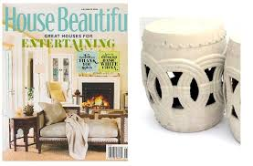 large classic chinese rope stool vanilla as featured by house beautiful