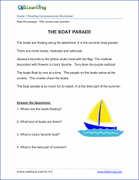 Phonics is a method of teaching kids to learn to read by helping them to match the sounds of letters, and groups of letters, to distinguish words. Free Reading Comprehension Worksheets Printable K5 Learning