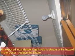 plastic closet fire can be easily caused by a closet light fixture pull chain lights with
