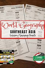 Asia Charts Review Southeast Asia Lesson Plan Guide For World Geography Back To