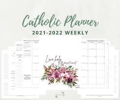 5 john neumann b memorial. 2021 2022 Catholic Weekly Planner Pdf Fully Catholic Elizabeth Clare