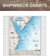 Shipwreck Charts And Maps Fishing Charts And Maps Shark Prints