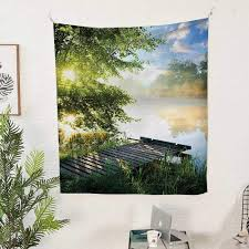 Morning Light Amazon Amazon Com Qinyan Home Tapestry Wall Tapestry 40w X 60l
