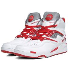 reebok basketball shoes pumps. reebok twilight zone pump white, red \u0026 railroad grey basketball shoes pumps r