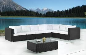 modern wicker patio furniture ideas on