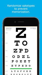 Eye Chart On Phone Eye Chart Hd Dans Lapp Store