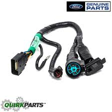 2005 2008 ford f 150 trailer tow hitch 7 pin connector wiring 2005 f150 engine wiring harness at 2005 F150 Wiring Harness