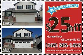 garage door lewisville tx