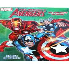 You might also be interested in. Dalmatian Press Marvel The Mighty Avengers Coloring Book With Captain America Hulk And Thor Brave In Battle