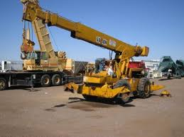 Galion 125A 12.5 ton rough terrain crane