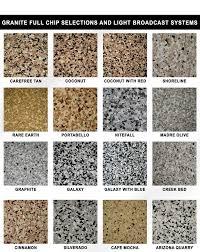 Epoxy Garage Floor Color Chart Epoxy Flake Color Chart Garage Floor Coatings Garage