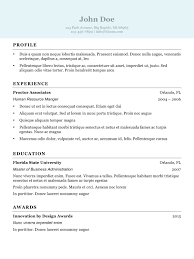 Examples Of Resumes Resume Trends And Expert Advice
