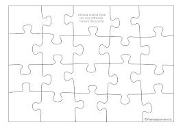 Puzzle Sugli Animali In 20 Pezzi Da Ritagliare E Incollare