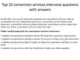 Sample Resume Questions top10000conventionservicesinterviewquestions withanswers100100jpgcb=10041008288429 4