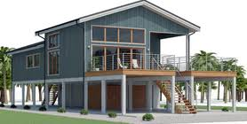 All beach and coastal homes incorporating piers or piles are built to weather the unique elements a. Home Plan Ch540