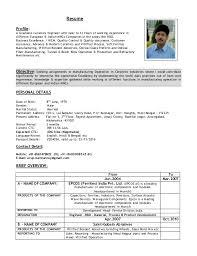 Ceramic Engineer Sample Resume