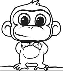 Free Animal Coloring Pages Vector Cartoon Cute Baby Nlchamberinfo