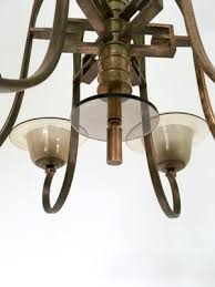 murano blown glass chandelier 1930s 9