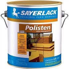 Geralmente, são usados para recuperar peças de madeira. Verniz Polisten Transparente Stain Impregnante 3 6litros Recanto Das Tintas