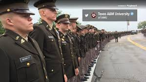 Texas A M Corps Of Cadets A M Corps Of Cadets To Line Library Entrance For Bush 41 Funeral