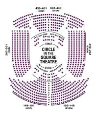 Oklahoma Broadway Seating Chart Circle In The Square Theatre Seating Chart Theatre In New York