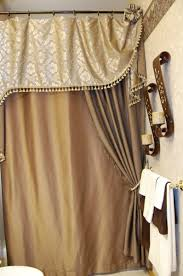 Charming Shower Curtains With Valances Ideas with Custom Home Accents  Gallery