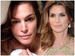 the most beautiful as well actresses and supermodels without makeup photos before and