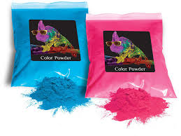 Amazon Com Holi Color Powder 1lb Pink And 1lb True Blue Gender