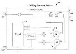 patent us7791282 motion sensor switch for 3 way light circuit patent drawing
