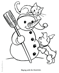 coloring page kitten kittens coloring