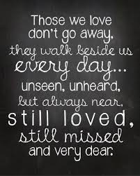 Missing Loved Ones Who Have Died Quotes