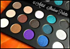 make up for ever 15 artist shadow palette holiday 2016