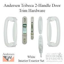 andersen sliding door lock gliding 2 panel door trim hardware interior and andersen sliding glass door
