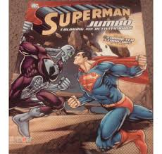 Superman jumbo coloring & activity book new. Superman Jumbo Coloring Activity Book W Stand Ups 4