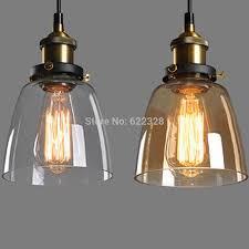 Diy Pendant Lighting New Vintage Industrial Diy Ceiling Lamp Light Glass Pendant